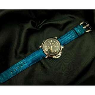 🚚 Panerai watch band / strap Snake leather, Panerai watch band / strap 26mm, Panerai watch band / strap 24mm, Panerai watch band / strap custom 2