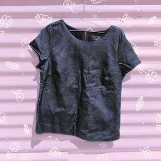 🔄ICE Faux Leather Look Top #SwapAU