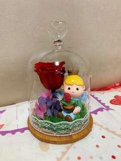 小王子 保鮮花 永生花 真花 玫瑰花