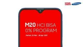 Samsung M20 Bisa Bunga 0% Tanpa Cc