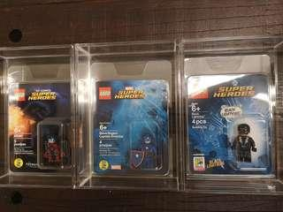 Lego Sdcc Captain America Atom & Black Lightning