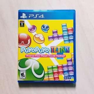 🚚 Puyopuyo Tetris (PlayStation 4)