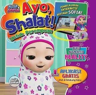 #BIGBADWOLF2019 Buku ajaib Alif dan sofia ayo sholat untuk perempuan 4D #BBW2019