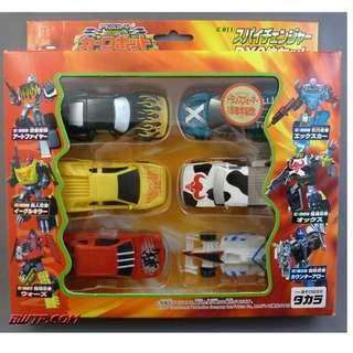 Rare Vintage Transformers 2000 Car Robots Takara TF2000 C-011 Spychangers Giftset - MISB C9.5
