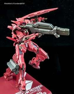 """「PO」METAL BUILD GUNDAM ASTRAEA TYPE-F (GN HEAVY WEAPON SET) With """"AVALUNG'""""OP-SET Japan Ver."""