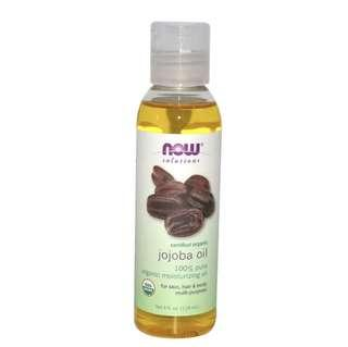 BN NOW Foods Organic Jojoba Oil 4oz 118ml