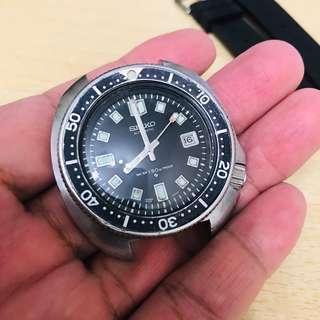古董精工潛水錶 6105-8110