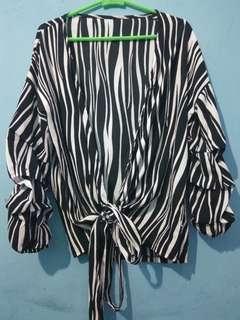 Kimono zebra