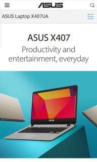 Brand new Asus Vivobook X405