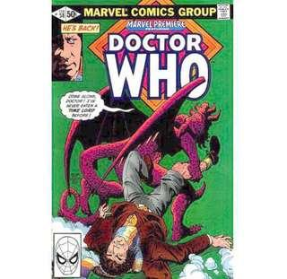 MARVEL PREMIERE #58 (1981) featuring Doctor Who - 2nd American Comic Book Appearance