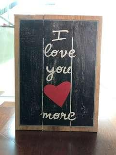 Wooden Balinese Spray Paint Frame