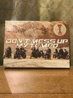 EXO - Don't Mess Up My Tempo (Modereto ver.) Kai & Suho Photocard included