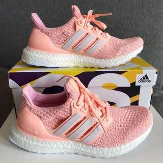 Adidas Ultraboost Orange Pink