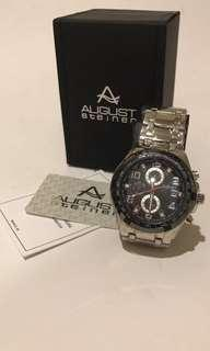 Stock clearance  Authentic August Steiner Watch
