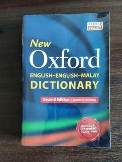 🚚 New Oxford English English Malay Dictionary