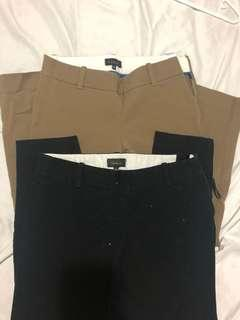 T. Babaton Elliot pants bundle