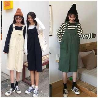 Women Chic Suspender Dress
