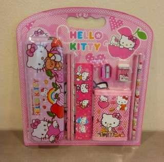 Stationery Set 9-in-1 Hello Kitty Design