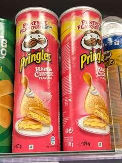 🚚 MUST TRY! 🇫🇷 France Pringles Ham & Cheese