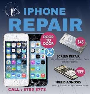 Free Doorstep , iPhone Repair! , iPhone Crack Repair