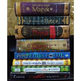 Preloved English Books For Sale