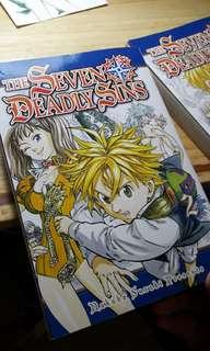 Manga seven deadly sins / nanatsu no taizai bol 2 english ver.