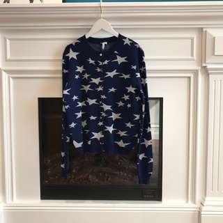 Loewe 星星針織外套