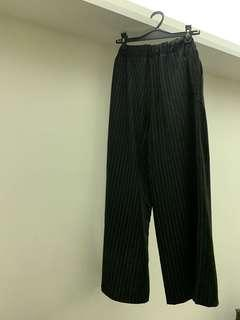 MONKI PIN STRIPPED PANTS