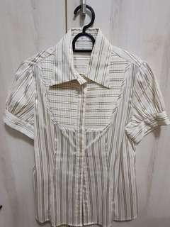 🚚 G2000 Office Striped Blouse
