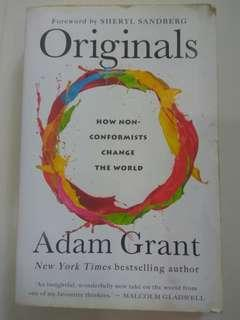 🚚 Originals: How Non-Conformists Change the World by Adam Grant
