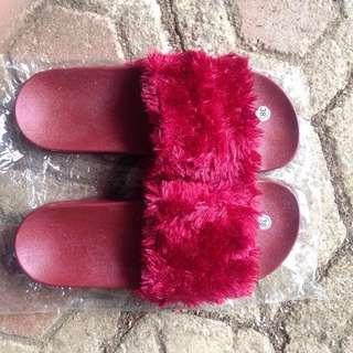 Fur sandal #paydaymaret