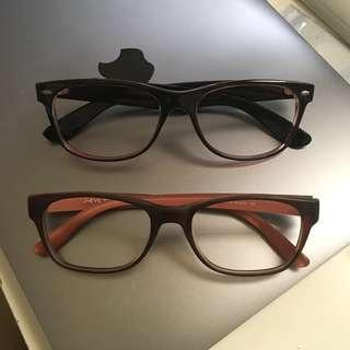 🚚 「各式100-300元眼鏡框」柔軟鏡框、可拗鏡框、彈性鏡框#一百均價