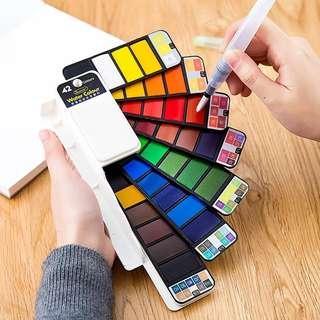 (PROMO)Solid watercolour paint set
