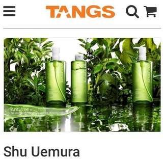 Tangs Tang Shu Uemura Online Voucher Worth $90