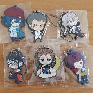 [Instock] Anime Rubber Straps