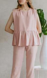 Maven top dusty pink