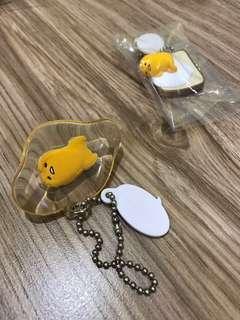 🚚 蛋黃哥鑰匙圈#半價良品市集
