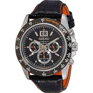 SEIKO LORD CHRONOGRAPH WATCH SPC237P1 ...