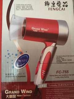 Grand Wind hair dryer