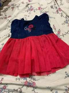 preloved guess kids dress