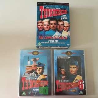 Thunderbirds complete series + 2 movies