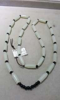 白玉珠頸鍊