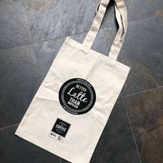 🚚 BN Double Sided Coffee Festival Tote Bag