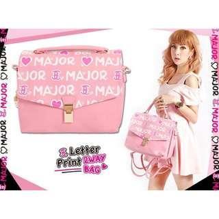 🚚 Major三用包 粉色後背包