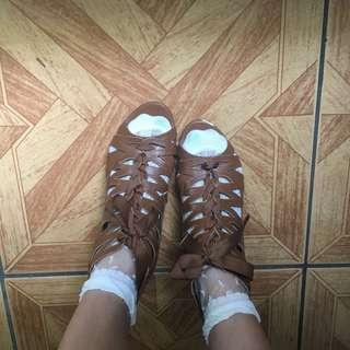 🚚 羅馬鞋涼鞋小坡跟涼鞋