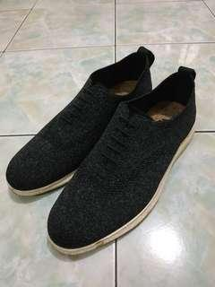 Sneakers Porteegods oxford knit oreo natural
