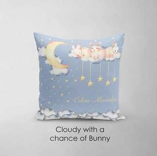 🚚 CUSTOM CUSHION COVER bunny