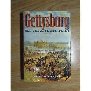 陶陶樂二手書店《Gettysburg Battle & Battlefield》美國南北戰爭時期蓋茨堡之役與戰場(英文精裝本)