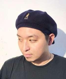 🚚 黑色 Kangol 蓓蕾帽 報童帽