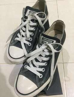 CONVERSE CT AS CANVAS OX BLACK & WHITE